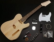 High Quality Solid Poplar Telecaster Style Kit Maple OR Rosewood