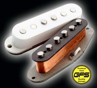 KP - 64 Stagger Overwound Grey-Bottom Rock Pickups - Kwikplug™ Ready