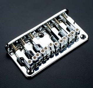 Top Mount Hardtail bridge- Fits Teles, Squier 51 Chrome