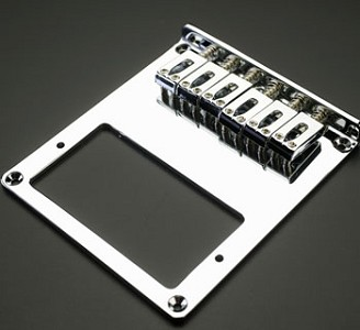 Chrome Humbucker Bridge for Tele Guitars