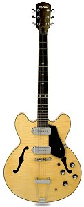 XV-910 Semi Hollow GFS Alnico Dogears Gloss Maple