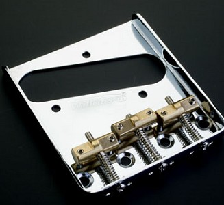 Wilkinson Compensated Tele Bridge Brass Saddles