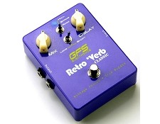 NEW DESIGN! Retro Verb Classic- Stereo Digital reverb Pedal- Analog Sounds!