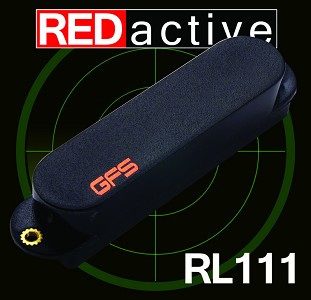 REDactive Strat Active Bridge position Black