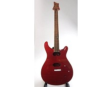 SPECIAL PURCHASE! Set Neck, Flamed, Red, Double Cutway Style Guitar, HH