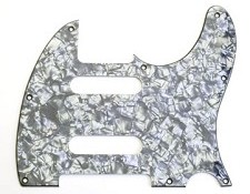 "Custom ""Nashville"" Tele Pickguard Black Pearloid"