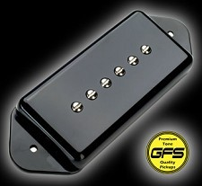 GFS Alnico Vintage Wound Dogear Black Pickup Bridge Position