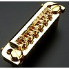 Gold Badass Style Intonatable wraparound bridge