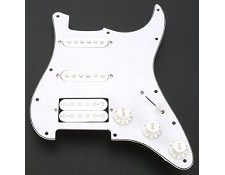 Humbucker Equipped HSS White Pre-Wired Assembly NEW!