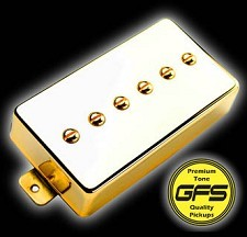Mean 90 Gold Case- Alnico P90 Pickup- Bridge Position. Fat and Strong Output!