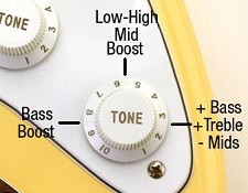 "Mid Boost Circuit- ""Clapton- Woman Tone""  at your fingertips!"