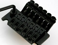 NEW!!! BLACK Super Heavy Duty Floyd Rose trem- BRASS & STEEL!