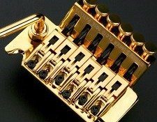 NEW!! GOLD Heavy Duty Floyd Rose trem- BRASS & STEEL!