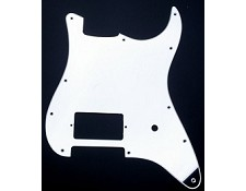 Single Humbucker Mirrored Strat Pickguard