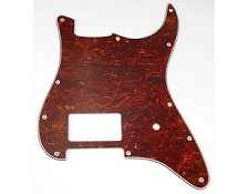 Single Humbucker Stratocaster Pickguard- Tortoiseshell