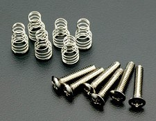 Strat Pickups Screw set- 6 screws, 6 springs