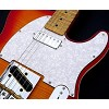 Tele Pickguard custom cut for Neck Mini Humbucker White Pearl