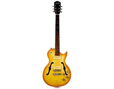XV-560 Semi Hollow Quilt Top- GFS Alnico P90s Lemon Drop
