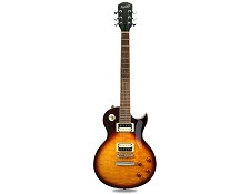 XV-510 Solid Carved Top Quilted Maple Vintage Sunburst