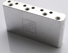 "Import 10.5mm ""Made in Mexico"" Spaced Machined Titanium Tremolo Block"