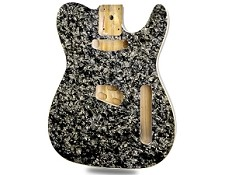 Black Mother of Pearl Celluloid Top Lightweight Tele Bound - Blem