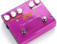 Twin Clean Drive- Two Channel Clean Boost Pedal- 6L6/EL-34 Tones!