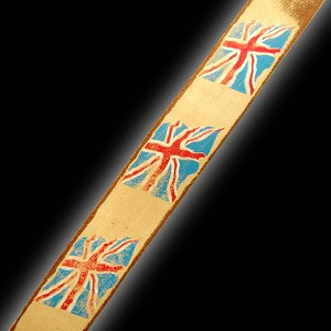NEW! Slickstraps UK Union Jack Flags HAND DISTRESSED