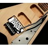 Offset Flying V Kit- SOlid Poplar Body- Floyd Rose Style Locking Tremolo