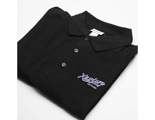 Xaviere Embroidered Polo Shirt- 100% Cotton