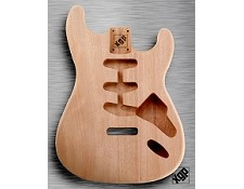 XGP Professional Strat Body Unfinished Solid Mahogany - Blem