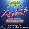 Case of 12 Sets- Xaviere Pure Nickel Strings Medium Light Gauge