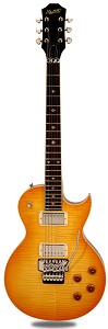 NEW! XV555 Double Locking Tremolo Carved Top LP Lemon Drop Flamed Maple