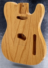 Telecaster® Style body SOLID USA ASH Clear Gloss Finish.