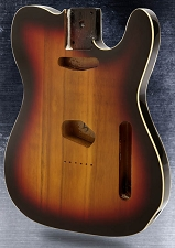 Lightweight Double Bound Single-Cutaway Style Body Vintage Sunburst