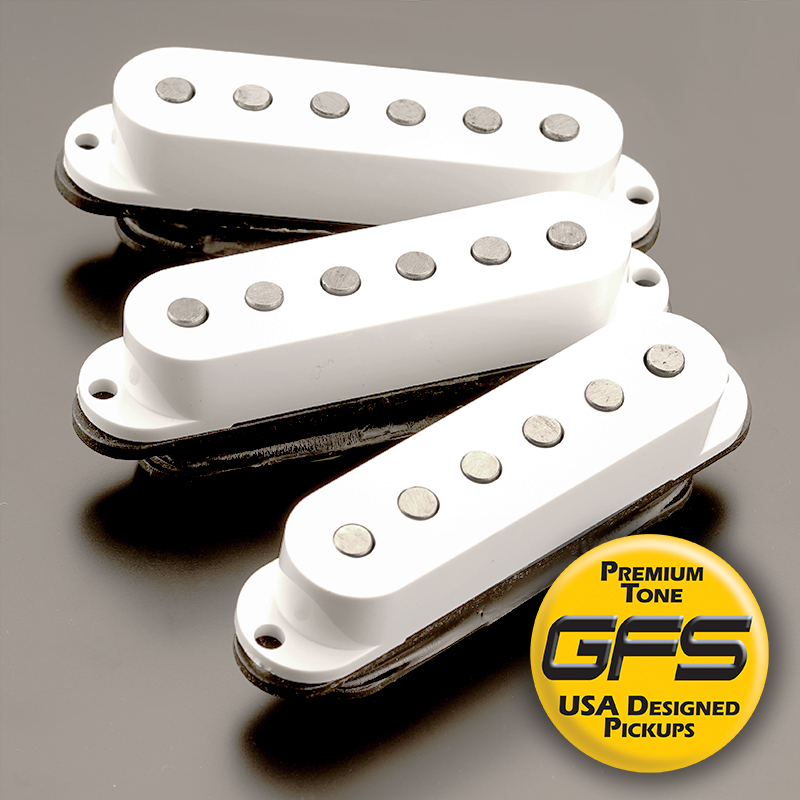 NEW!! GFS TRUE-COIL Noise Canceling Single Coil Pickups