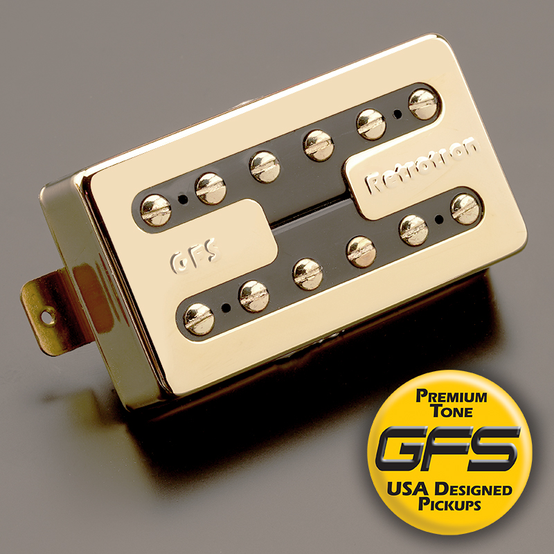 Hot Liverpool Alnico Overwound Humbucker Gold