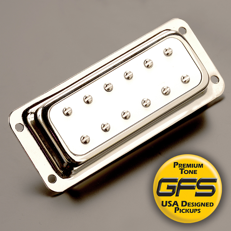 GFS NYIII Surface Mount Humbucker ALnico III White