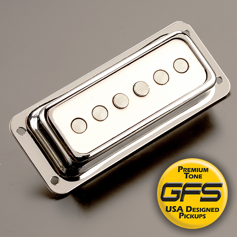GFS NYII Surface Mount Alnico Pickup WHITE