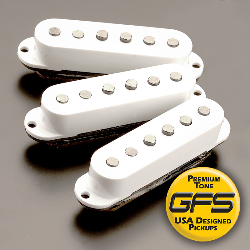 GFS Noise-Free NEOVIN Pickups for Stratocaster Sets