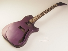 Purple Thing Guitar Rosewood Fret Board SC/HB 22 Fret  As Is Guitar