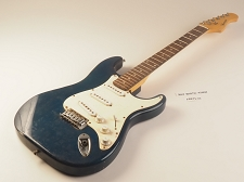 Blue Strat® Style Guitar Rosewood Fret Board 3 Single Coil 22 Fret Vintage Trem System As Is Guitar