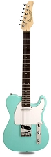 XV-820 Poplar Body Rosewood FB Maple Neck Seafoam Green