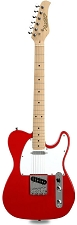 XV-820 Solid Poplar Rocket Red Maple Fingerboard
