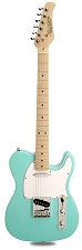 CLEARANCE! XV-820 Poplar Body Maple Neck Seafoam Green