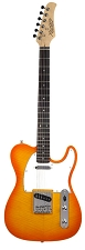 XV-835 Lemon Drop Maple Top Solid Woods Rosewood Fingerboard