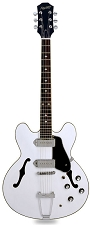 XV-910 Semi Hollowbody Alnico Dogear P90s Gloss White/Chome