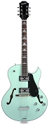 XV-950 Hollowbody GFS Retrotrons, Maple Construction Surf Green