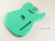 Lightweight Vintage Tele® Body Surf Green - Blemished