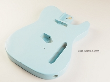 Telecaster® Style Body Lightweight PAULOWNIA Daphne Blue - Blemished