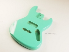 Jazz Bass Lightweight Body Surf Green Finish - Blemished